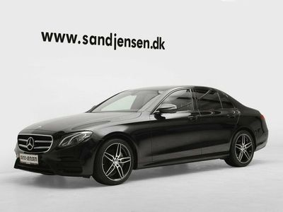 used Mercedes E220 2,0 AMG Line aut.