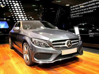 brugt Mercedes C200 d T 2,1 D 7G-Tronic Plus 136HK Stc 7g Aut. - Personbil - mørkgråmetal