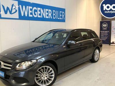 usado Mercedes C220 2,1 D 7G-Tronic Plus 170HK Stc Aut.