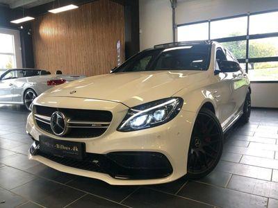 brugt Mercedes C63 AMG 4,0 AMG S stc. aut.