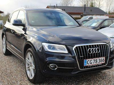 brugt Audi Q5 3,0 TDi 245 S-line quattro S-tr.