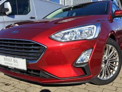 brugt Ford Focus 1,5 EcoBoost Titanium 182HK Stc 8g Aut.