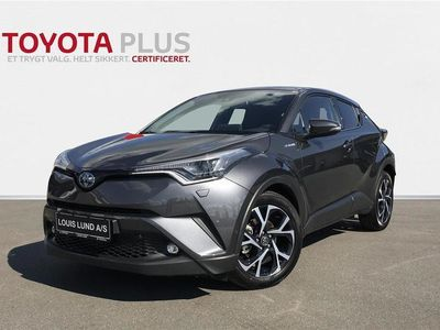 brugt Toyota C-HR 1,8 B/EL C-LUB Premium Selected Multidrive S 122HK 5d Aut.