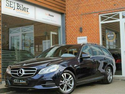 brugt Mercedes E220 1 BlueTEC Edition E stc. 170HK st.car aut