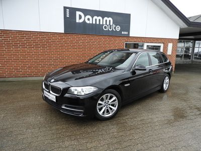 brugt BMW 520 2,0 d Touring Steptronic 190HK st.car aut