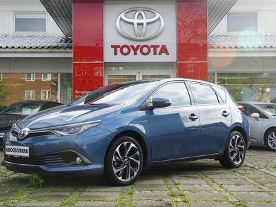 brugt Toyota Auris Hybrid 1,8 B/EL Style 136HK 5d 6g Aut.