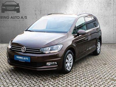 brugt VW Touran 1,4 TSI BMT Comfortline DSG 150HK 7g Aut. - Personbil - brunmetal - 7 pers.