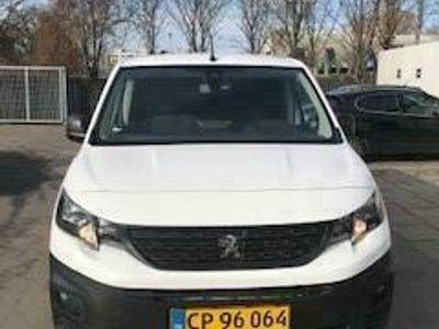 brugt Peugeot Partner L2 V2 1,5 BlueHDi Plus Pro 130HK Van 6g A
