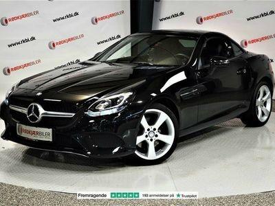 brugt Mercedes SLC200 2,0 aut.