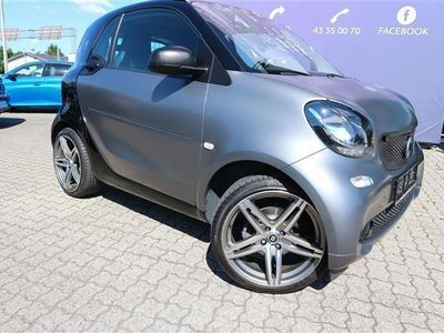brugt Smart ForTwo Coupé 1,0 mhd & pure 71HK 2d