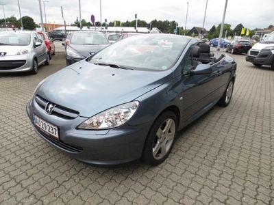 gebraucht Peugeot 307 CC 2,0 136HK Cabr. Aut.
