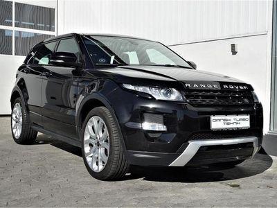 brugt Land Rover Range Rover evoque 2,2 SD4 Dynamic 4x4 190HK 5d 6g Aut.