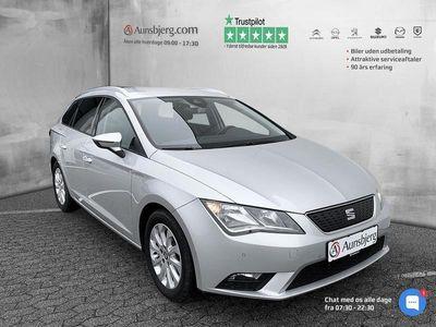 brugt Seat Leon 1,6 TDI Style Start/Stop 110HK Stc 6g