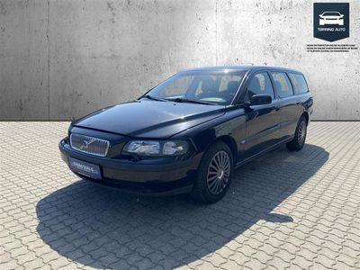 brugt Volvo V70 2,4 Momentum 140HK Stc - Personbil - Sort