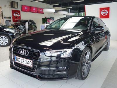 brugt Audi A5 Sportback 1,8 TFSi 177 S-line Multitr.