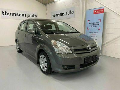 brugt Toyota Corolla Verso 1,8 Sol 7prs