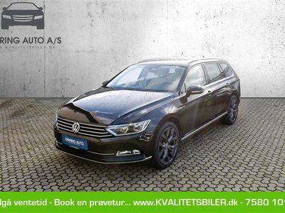 brugt VW Passat Variant 1,4 TSI BMT ACT Highline Plus DSG 150HK Stc 7g Aut. - Personbil - sortmetal