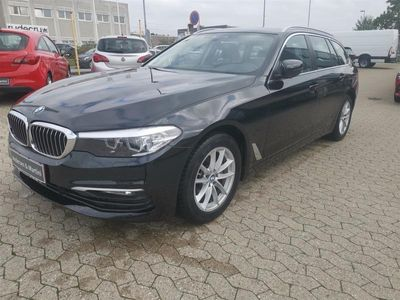 brugt BMW 520 d Touring 2,0 D Connected Steptronic 190HK Stc 8g Aut.