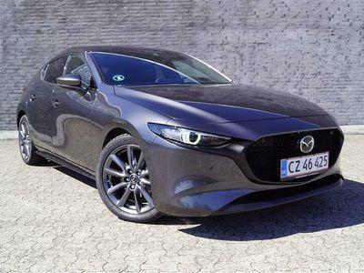 brugt Mazda 3 2,0 Skyactiv-G Mild hybrid Cosmo m. Technology Pack 150HK 5d 6g Aut.