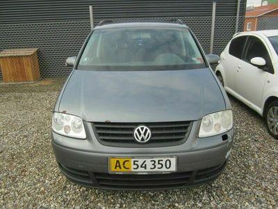 brugt VW Touran 1,9 TDi 100 Trendline Van