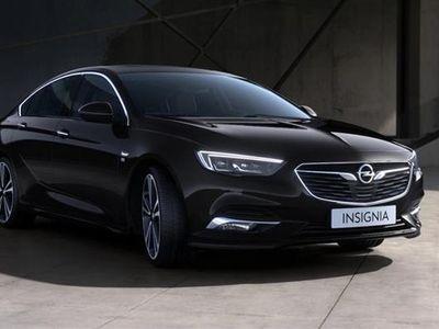 brugt Opel Insignia Grand Sport 1,5 Turbo Dynamic Start/Stop 165HK 5d 6g - Personbil - sortmetal