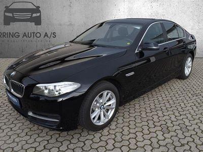brugt BMW 530 d 3,0 D 258HK 8g Aut. - Personbil - sort