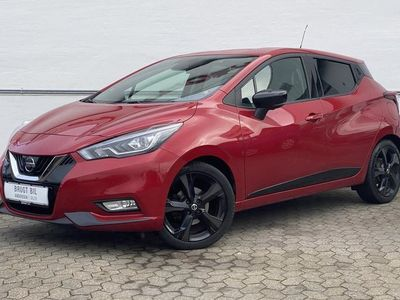 brugt Nissan Micra 0,9 IG-T Tekna Start/Stop 90HK 5d
