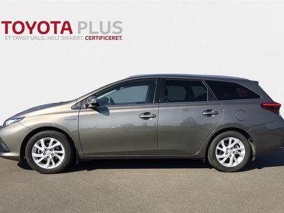 brugt Toyota Auris Touring Sports 1,8 B/EL H2 Comfort 136HK Stc Aut. A++