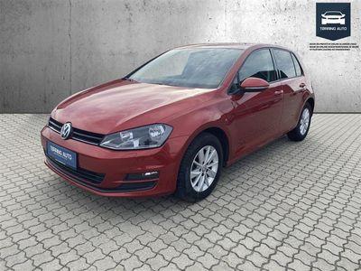 brugt VW Golf 1,4 TSI BMT Comfortline 122HK 5d 6g - Personbil - Rødmetal
