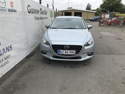 käytetty Mazda 3 2,0 Skyactiv-G Optimum 120HK 5d 6g Aut.