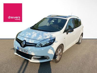 brugt Renault Grand Scénic 1.5 dCi ESM 110 hk | 7p | Limited Edition