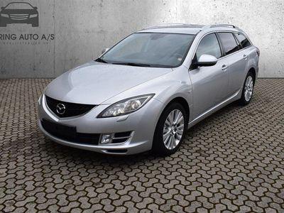 brugt Mazda 6 2,0 Advance 147HK Stc 6g Aut. - Personbil - Sølvmetal