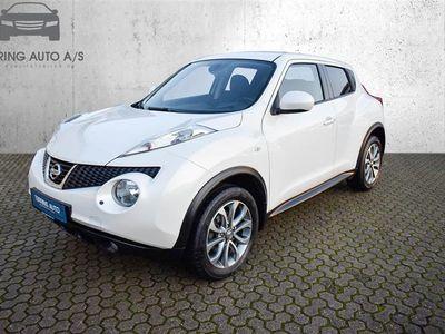 brugt Nissan Juke 1,5 DCi DPF Tekna 4x2 Start/Stop 110HK 5d 6g - Personbil - hvidmetal