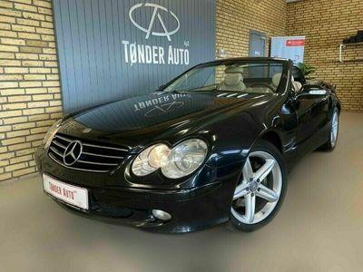 brugt Mercedes SL500 5,0 aut.