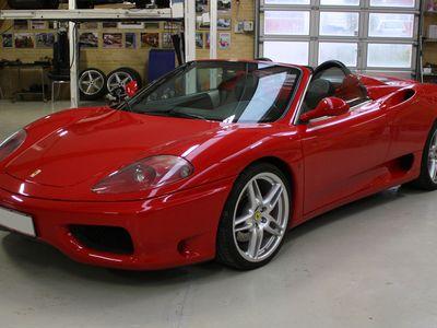 brugt Ferrari 360 Modena Spider F1