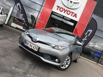 brugt Toyota Auris Hybrid 1,8 B/EL Comfort Safety Sense 136HK 5d Aut.