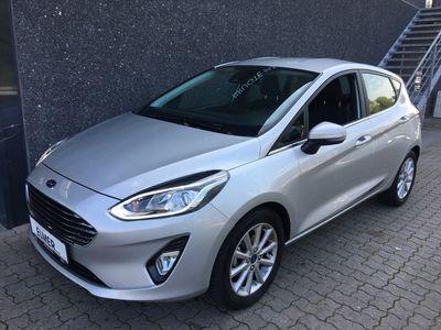 brugt Ford Fiesta 1,0 EcoBoost Titanium Start/Stop 125HK 5d 6g A+