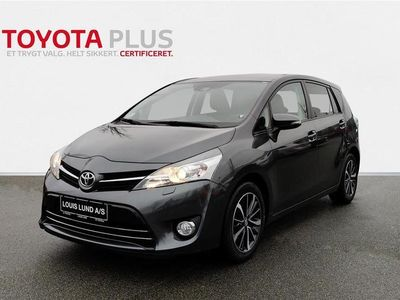 brugt Toyota Verso 7 pers. 1,8 VVT-I T2 premium + Skyview 147HK 6g