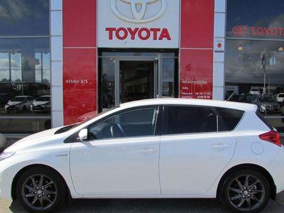 brugt Toyota Auris Hybrid 1,8 VVT-I H2 Premium E-CVT 136HK 5d Aut.