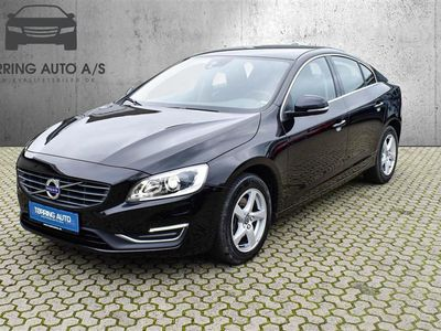 brugt Volvo S60 2,0 D3 Momentum 150HK 6g - Personbil - sortmetal