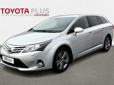 brugt Toyota Avensis 1,8 VVT-I T2 Premium 147HK Stc 6g