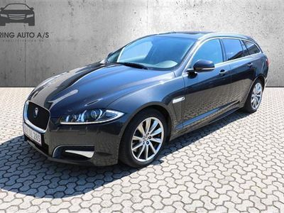 brugt Jaguar XF Sportbrake 3,0 DS Portfolio 275HK Stc 8g Aut. - Personbil - koksmetal
