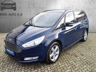 brugt Ford Galaxy 2,0 TDCi Titanium 150HK 6g - Personbil - mørkblå