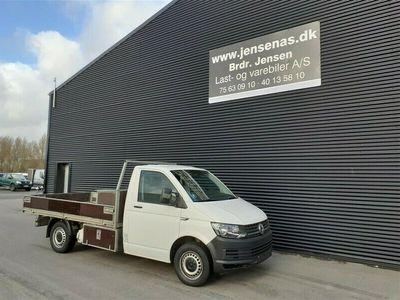 brugt VW Transporter LANG 2,0 D m/trælad 140HK Ladv./Chas. 2016