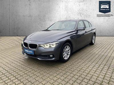 brugt BMW 320 d 2,0 D Executive Steptronic 190HK 8g Aut. - Personbil - Mørkgrå