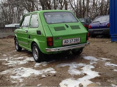 brugt Fiat 126 650ccm