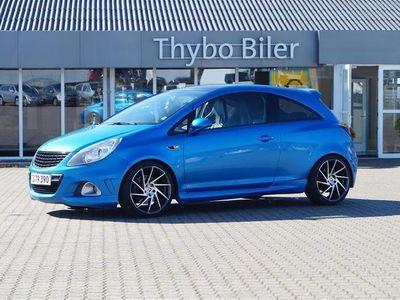brugt Opel Corsa OPC 1,6 Turbo 191HK 3d 6g