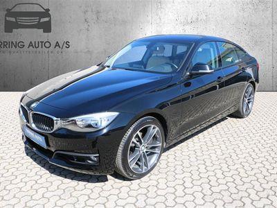 brugt BMW 320 Gran Turismo d 2,0 D Steptronic 190HK 5d 8g Aut. - Personbil - sortmetal