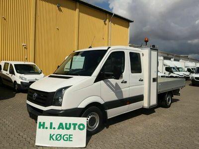 brugt VW Crafter 2,0 TDi 163 Mandskabsvogn m/alulad L