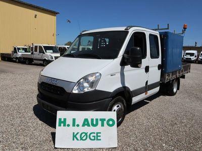 brugt Iveco Daily 3,0 35C17 Mandskabsvogn m/lad